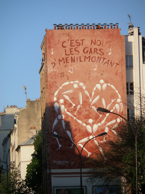 Street art a Parigi Mesnager