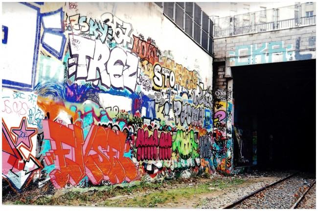 Street art a parigi - Petit ceinture