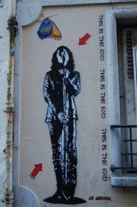Street art a Parigi - Pochoir Jeff Aérosol