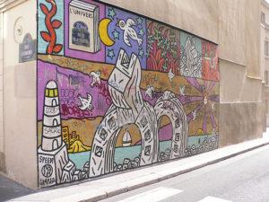 Street art a Parigi - Speedy Graphito