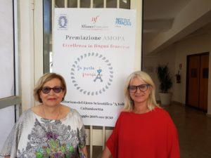 premiazione AMOPA - rappresentanti associazione