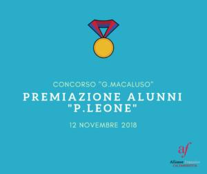 Alliance Française Caltanissetta - Concorso Giusi Macaluso