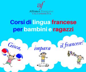 Corso di lingua francese per bambini e ragazzi