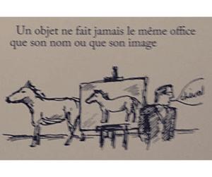 Surrealismo Magritte Les Motes e les Images - Cheval