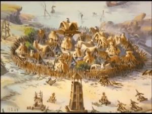 I personaggi di Astérix e Obélix - il villaggio dei Galli