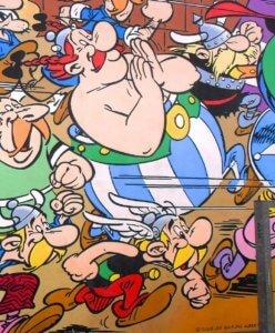I personaggi di Astrix e Obelix