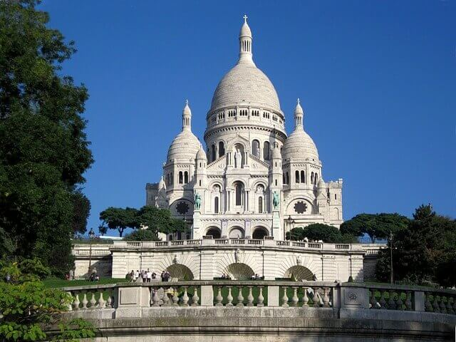 Basilica del Sacro Cuore a Montmartre