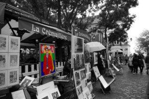 Place du Theatre Montmartre