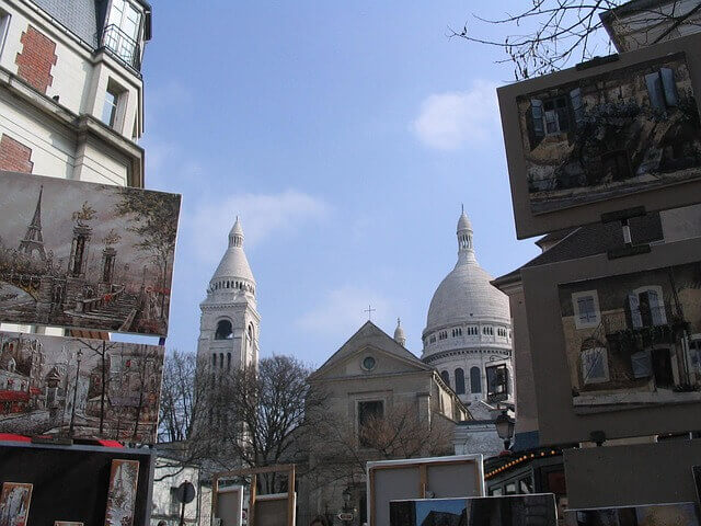 Quartiere di Montmartre - Place du Theatre