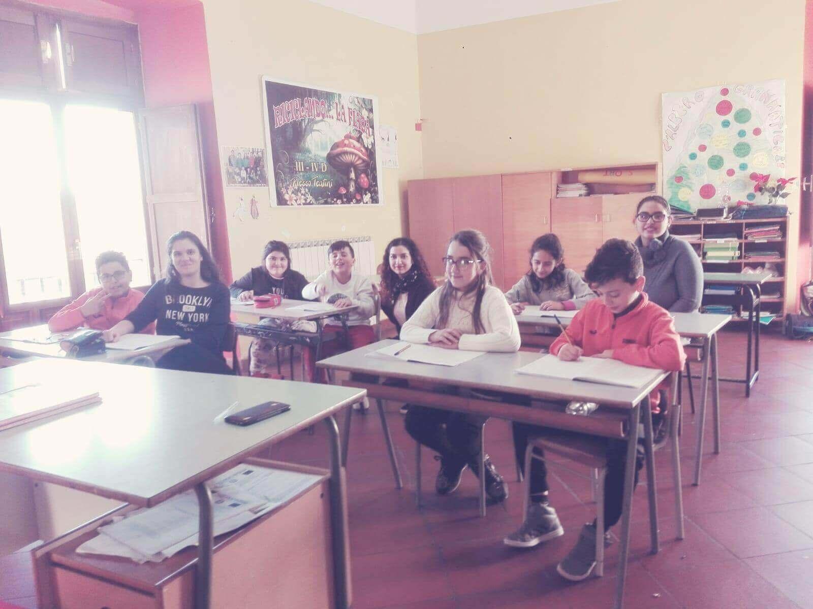 progetto alternanza scuola lavoro - gli alunni che insegnano francese